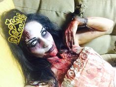 Zombie Prom Queen Makeup by a Beauty by Trisha