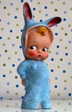 vintage squeaky toy by fleaflyflofun!, via Flickr