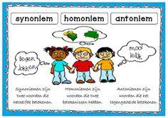 Vlak na de instructie weten ze het meestal nog wel, maar zijn we wat dagen of weken verder, dan zijn ze het alweer vergeten: de betekenis van synoniemen, homoniemen en antoniemen.
