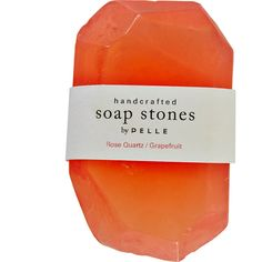 10oz Grapefruit Stone Soap (60 CAD) ❤ liked on Polyvore featuring beauty products, bath & body products, body cleansers, fillers, beauty, makeup, soap, other and jean & oliver pelle