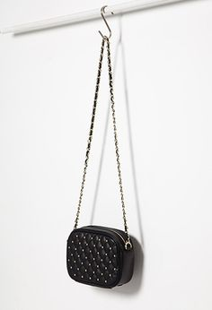 Shop stylish crossbody bags for any occasion at Forever Browse an array of must-have designs in faux leather, faux suede & quilted styles. Kate Spade Handbags, Coach Handbags, Purses And Handbags, Quilted Handbags, Handbags On Sale, Luxury Handbags, Leather Crossbody, Crossbody Bag, Cute Purses