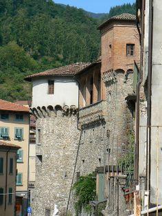 Town Walls, Castelnuovo di Garfagnana, Tuscany, Italy