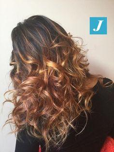 Sfumature oro rosa _ Degradé Joelle  #cdj #degradejoelle #tagliopuntearia #degradé #igers #musthave #hair #hairstyle #haircolour #haircut #longhair #ootd #hairfashion