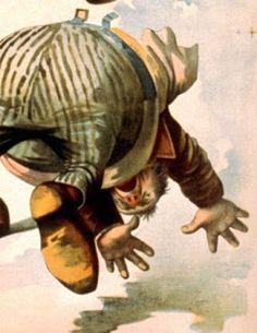 Look out below! A fellow who often spoke ill ... #limericks