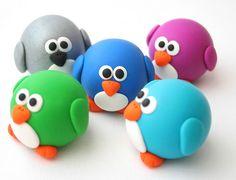 Tiny Round Penguins by fliepsiebieps1, via Flickr