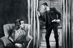 film noir mens fashion