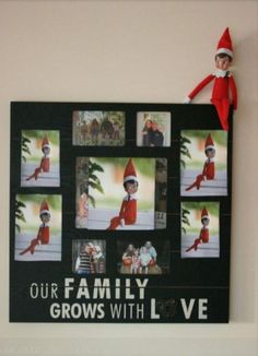 200 Easy Elf on the Shelf Ideas~ Some new ideas, I need them. :) I love the zip line!