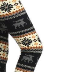 Leggings winter Print