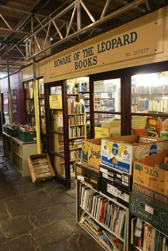 https://flic.kr/p/7w62qp | Bookshop | Saint Nicholas Market, and you don't have to go down into the cellar, the lights are on, there are no lost stairs, locked filing cabinets or disused lavatories. The sign however is there.