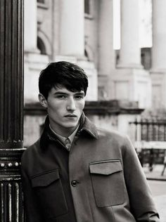 Jester White by Roger Rich for the Hardy Amies Fall Winter 2013 2014 campaign shot in London
