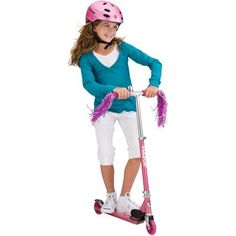 Razor 13012062 A Kick Scooter 143 Lbs Sweet Pea Pink ColorRazor A scooter folds up for storage or for carrying in a bag *** Click image to review more details.