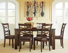 Dining Table & Six Chairs - FFO Home