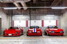 "21 Likes, 1 Comments - @ferrari.classic on Instagram: ""Ferrari F40 and two 365 GTB/4 Daytona Competizione's By: @kevinvanc #ferrari #ferrariclassic…"""
