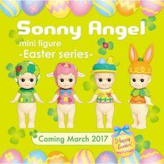 Sonny Angel série Pâques (2017)