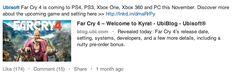 #TYDZIENzLinkedIn Mów o nadchodzących wydarzeniach w firmie, premierach #SocjoTips >> http://bit.ly/LinkedIn22Tipy via @Socjomania Przykład jak to robi Ubisoft.