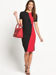 Petite Colourblock Confident Curves Dress, http://www.littlewoodsireland.ie/savoir-petite-colourblock-confident-curves-dress/1458056259.prd  57