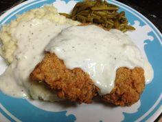 Chicken Fried Steak (Recipe) - Mommy Like Whoa