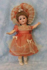 "12"" Antique Doll Gebruder Heubach Bisque #8420 Square Mark Boo Boo Bargain c1914"