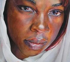 watercolor african american skin - Google Search
