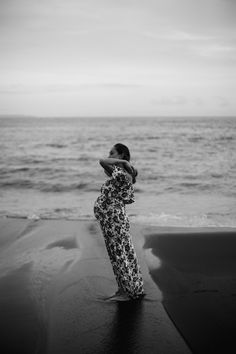 Maternity Boudoir and Beach Sessions of Norris and Jordan