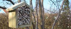 Et hus til havens insekter, byd dem velkommen indenfor med deres eget hus