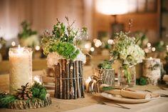woodland Michigan barn wedding - photo by Allie Siarto Photography http://ruffledblog.com/woodland-michigan-barn-wedding