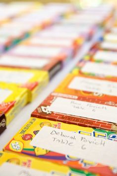 Place Cards: Lemonheads, Mexican candy?