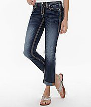 Rock Revival Karla Skinny Stretch Jean want these next for sure! Miss Me Outfits, Hot Outfits, Jean Outfits, Sexy Jeans, Women's Jeans, Outfit Jeans, My Style Bags, Buckle Outfits, Rock Revival Jeans