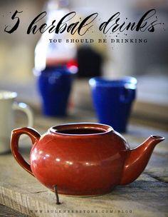 5 Herbal Drinks You