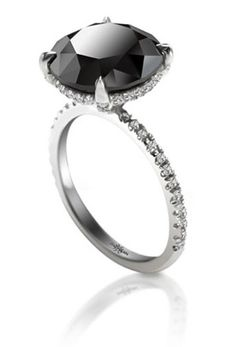 Black Diamond Ring this IS my kind of ring!!! :-D