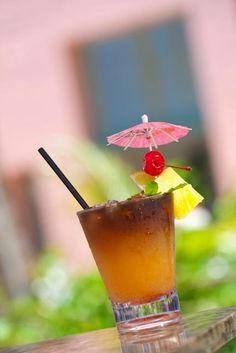 Authentic Waikiki Royal Hawaiian Pink Mai Tai recipe ~ scroll down to the bottom of the page for this marvelous Rum cocktail, plus instructions for how to make one of its ingredients, Maraschino Cherry & Vanilla puree