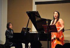 La soprano Eugenia Garza y el pianista Carlos Alberto Pecero ofrecieron recital en la Fonoteca Nacional