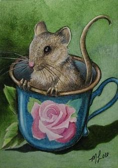 'Teacup Mouse' by Melody Lea Lamb