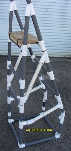 ❧ A PVC Step Ladder