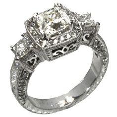 vintage engagement ring!