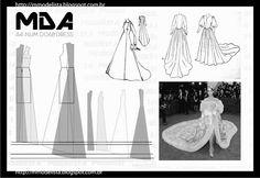 sábado, 9 de maio de 2015 A4 NUM 0068 DRESS Além de bonito, o vestido de noiva com cauda parte da tradição na moda noiva. Muitas noivas sonham em ter uma longa cauda fluindo atrás delas conforme