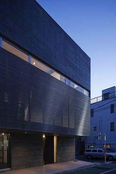 """CALM House, Satoshi Kurosaki Calm,© Masao Nishikawa GC: 35º42'54.17"""" N 139º44'57.33"""" E"""