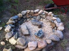 Our fire pit in TN