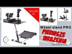Wheel stand Pro V2 for Flight Simulators: first impressions (PL) Home cockpit…