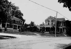 Jefferson Street in Hartford City, Indiana, ca. 1905