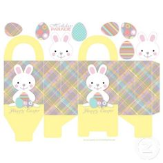 How to a variety of easter baskets and boxes with printables how to a variety of easter baskets and boxes with printables tutorials miniature easter pinterest miniature boxes and ramen negle Choice Image