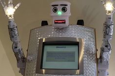 German Robot Priest Offers Blessing in 5 Languages:http://www.fodors.com/news/news/german-robot-priest-offers-blessing-in-5-languages