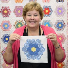 Lear what to do with those vintage block with Jenny of Missouri Star Quilt Co. Missouri Star Quilt Pattern, Missouri Star Quilt Tutorials, Quilting Tutorials, Msqc Tutorials, Quilt Square Patterns, Jelly Roll Quilt Patterns, Hexagon Patchwork, Hexagon Quilt, Quilt Blocks