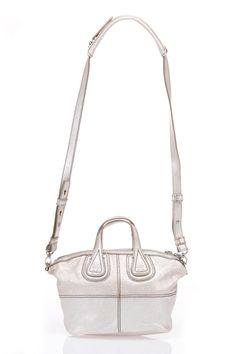 42bc37ee6272 Nightingale Micro Satchel Bag in Silver Aristocratic and distinctive
