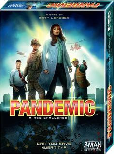 Pandemic 2nd edition - basisspel