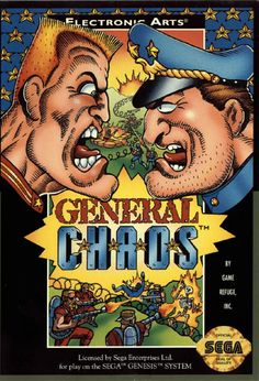 Another insanely addictive game my cousin and I would play into the wee hours of the morning as kids. Plus, it was my first RTS. (General Chaos - Sega Genesis, 1994)