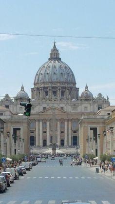 Piazza  San Pedro  - Roma