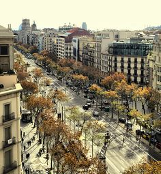 Passeig de Gràcia, Barcelona, Catalonia