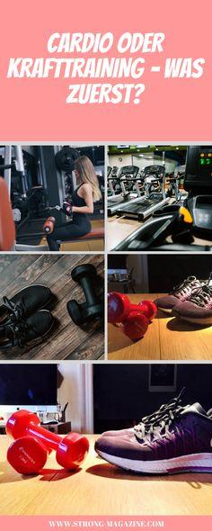 Cardio oder Krafttraining - was sollte man zuerst machen?