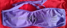 Monogrammed Bandeau Top PREORDER by PersonalizedbyPriss on Etsy, $23.00